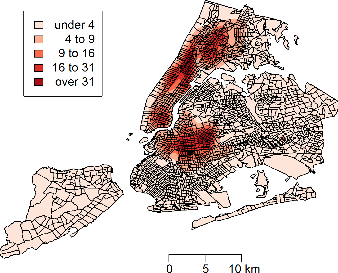 Rat Sightings In New York City Are Associated With Neighborhood - Nyc rat map