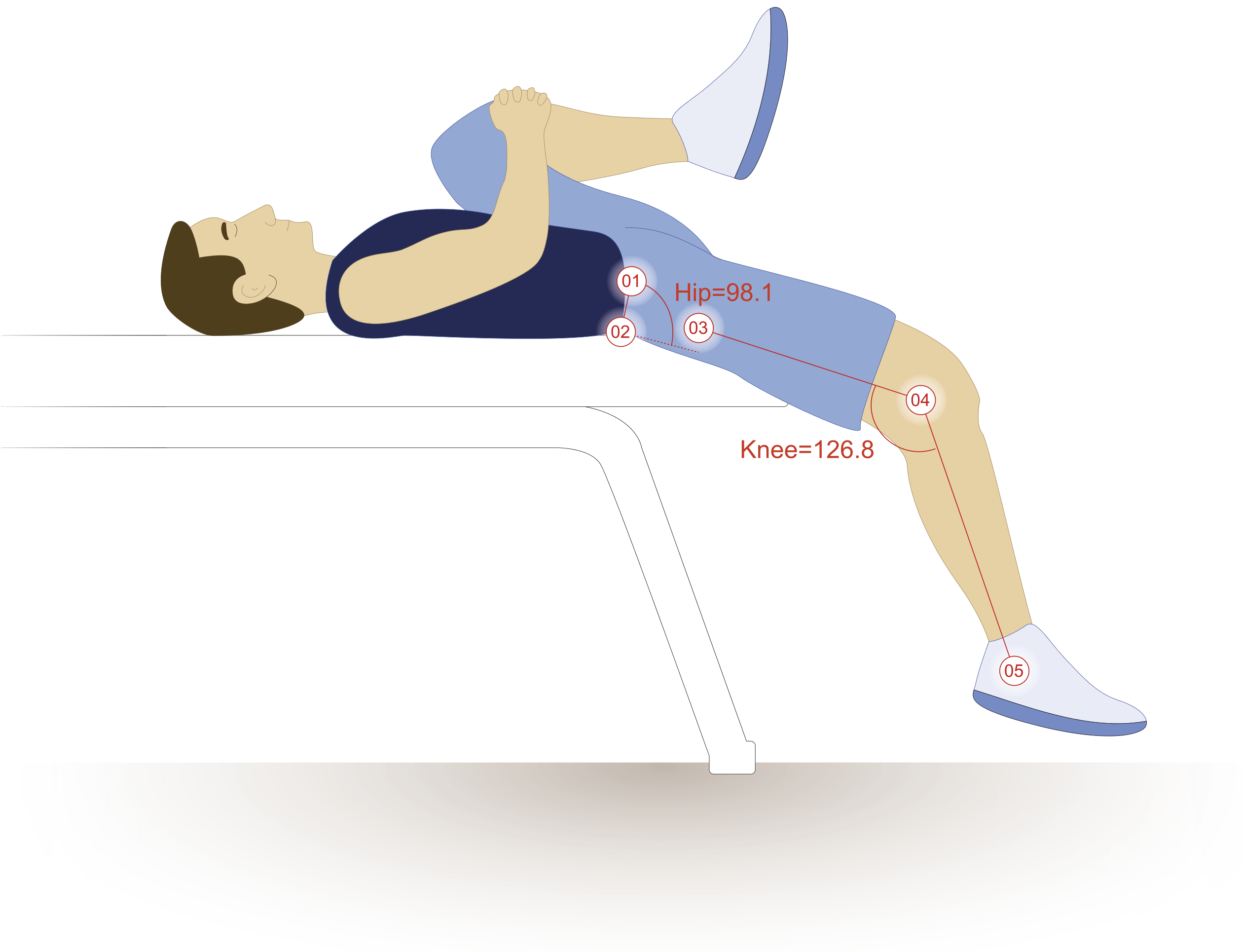 Acute effects of anterior thigh foam rolling on hip angle, knee ...