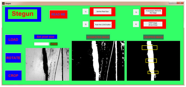 STEGUN: a semi-automated tool to evaluate slice thickness.