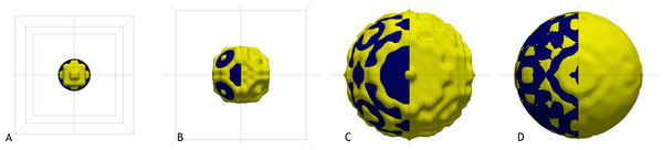 Illustration of sphere approximations, with increasing accuracy.