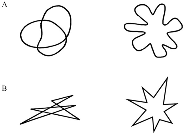 Shape stimuli used in Experiment 1.