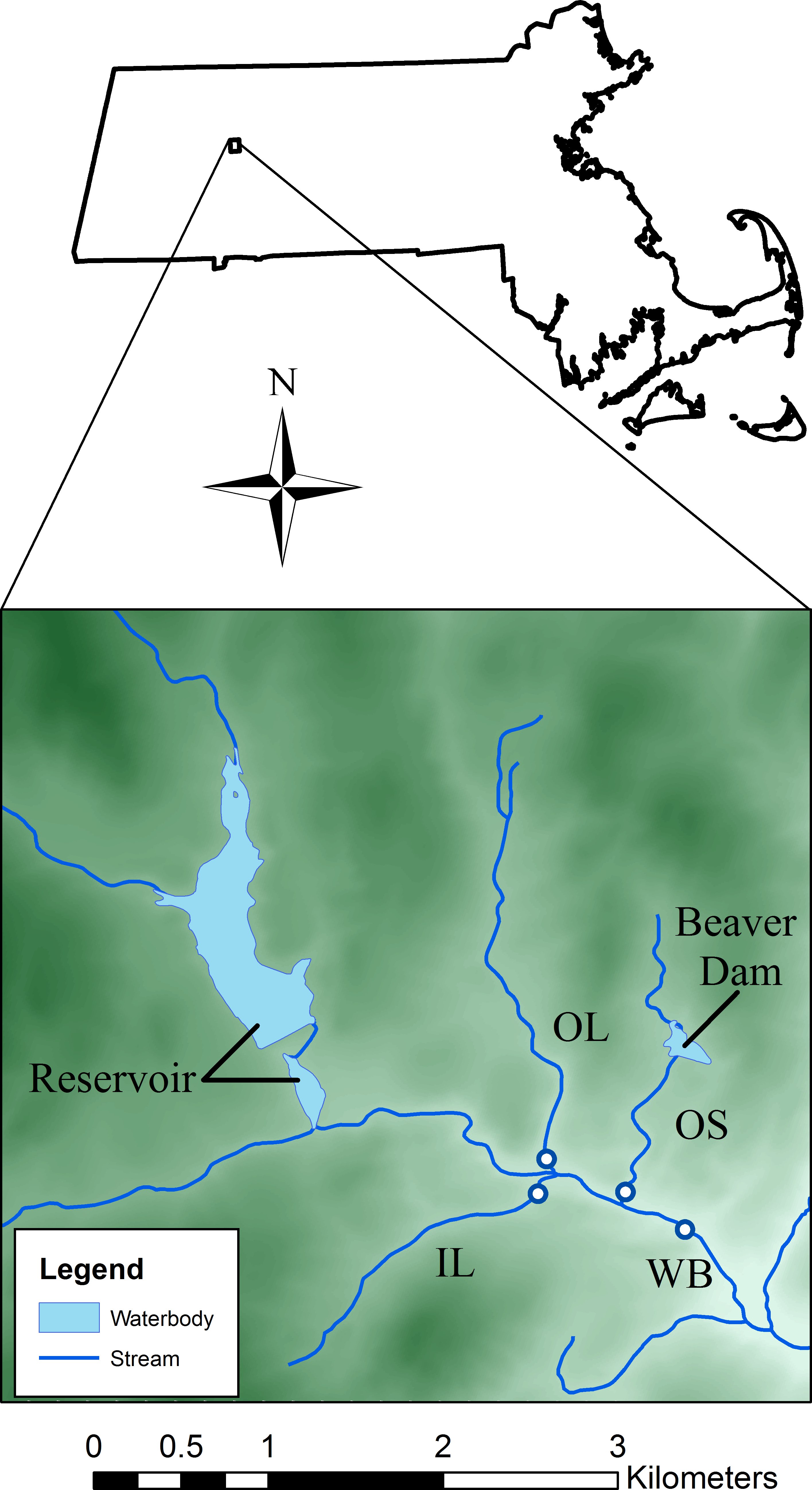 A Hierarchical Model Of Daily Stream Temperature Using Air