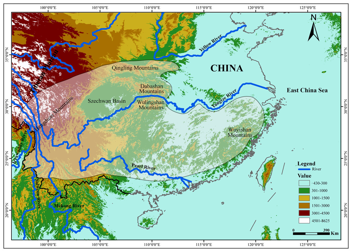 Yangtze River, an insignificant genetic boundary in tufted deer ...