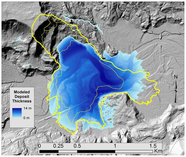 Oso, WA Landslide Simulation.