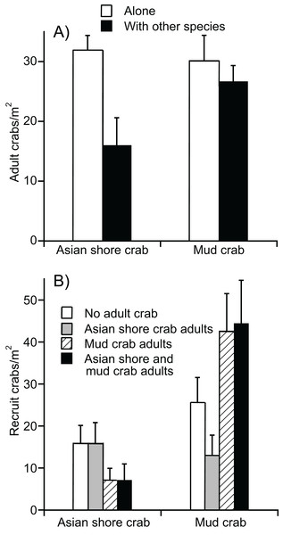 Experimental evidence for mud crab resistance to Asian shore crabs.