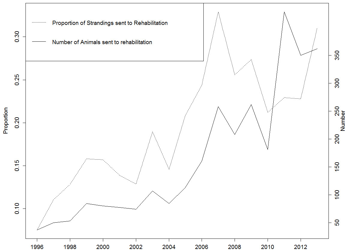 Status of marine turtle rehabilitation in Queensland [PeerJ]