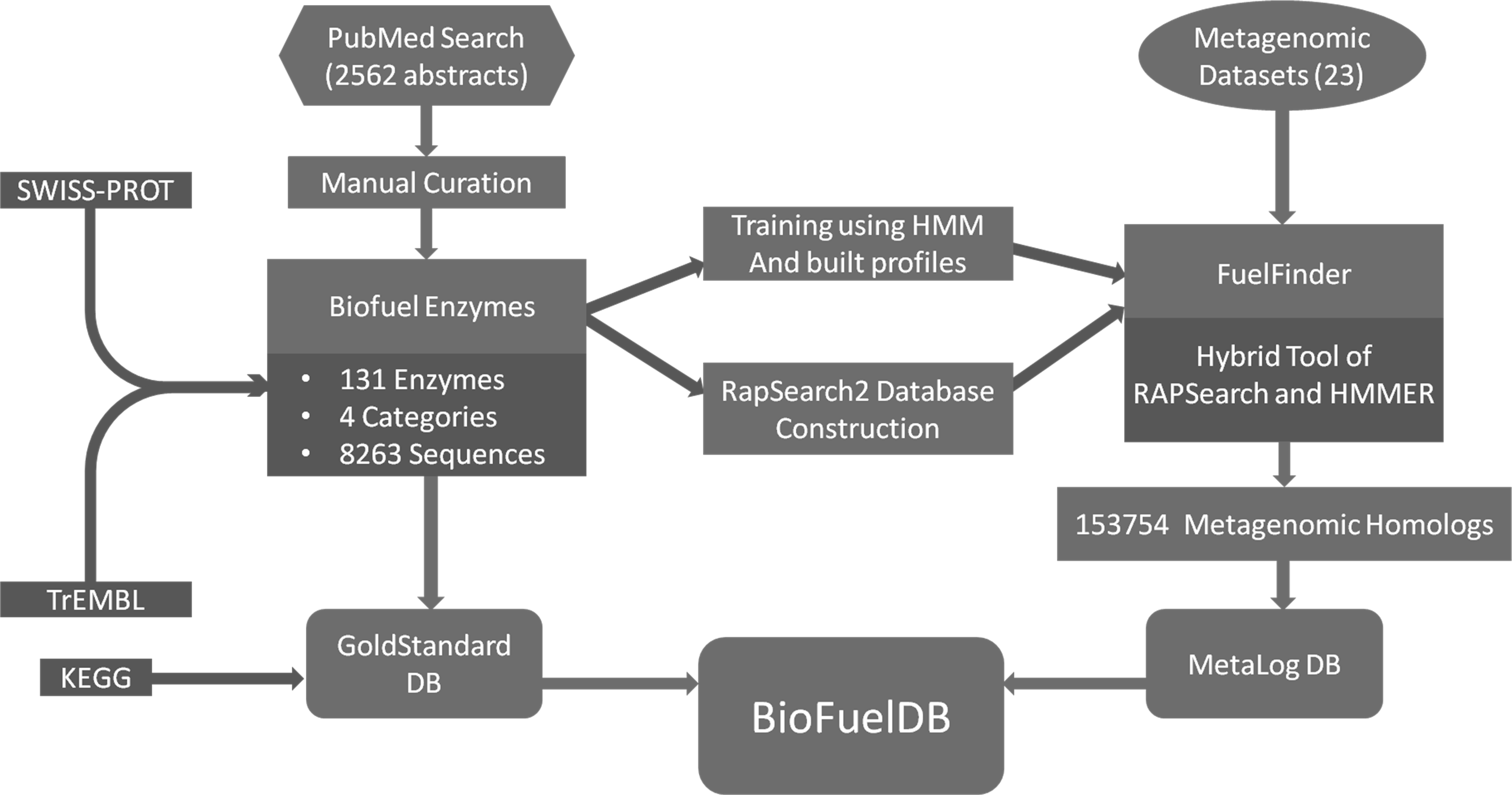 BioFuelDB: a database and prediction server of enzymes