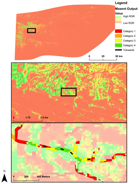 Map of ground validation.