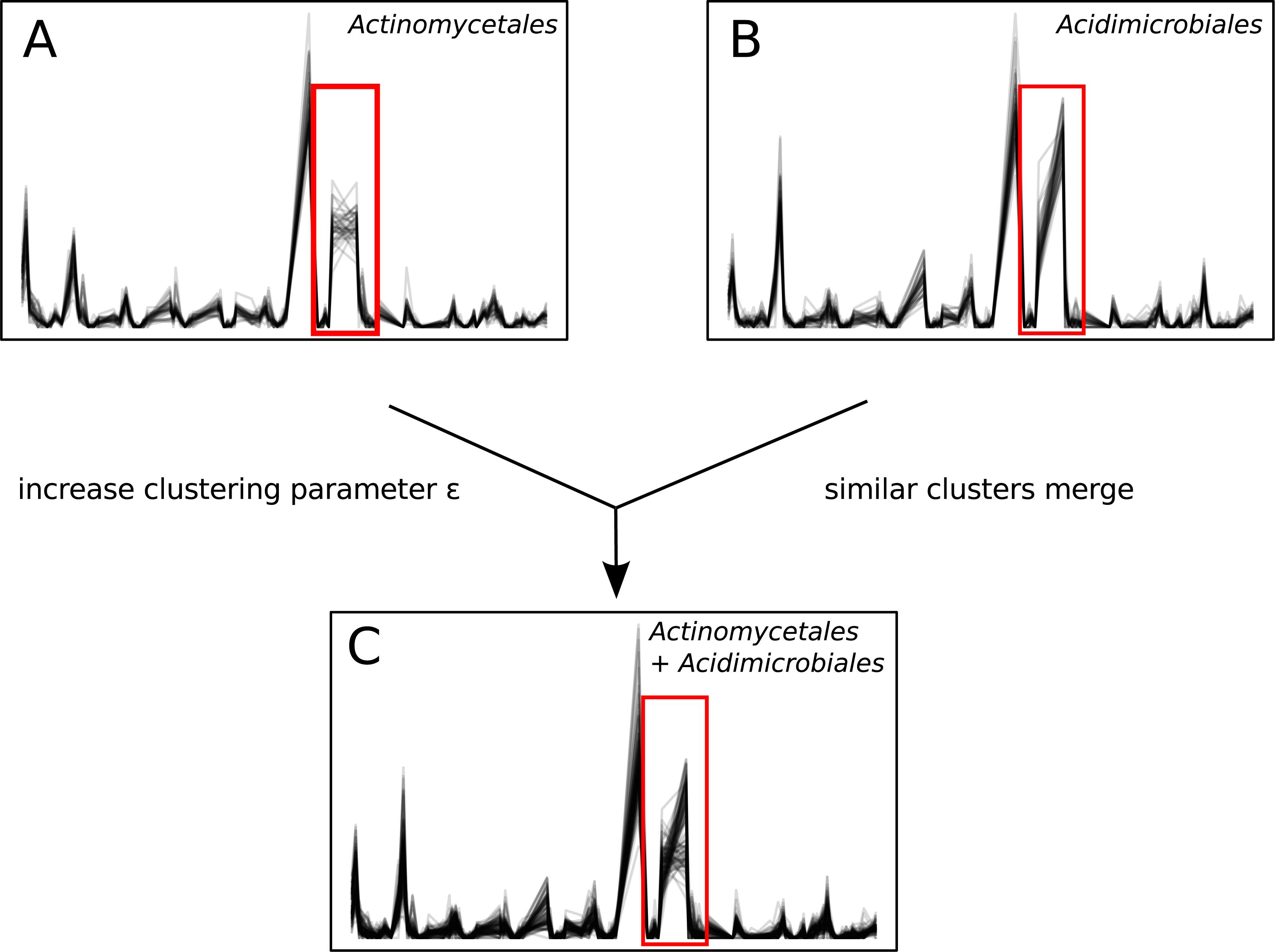 Ananke: temporal clustering reveals ecological dynamics of