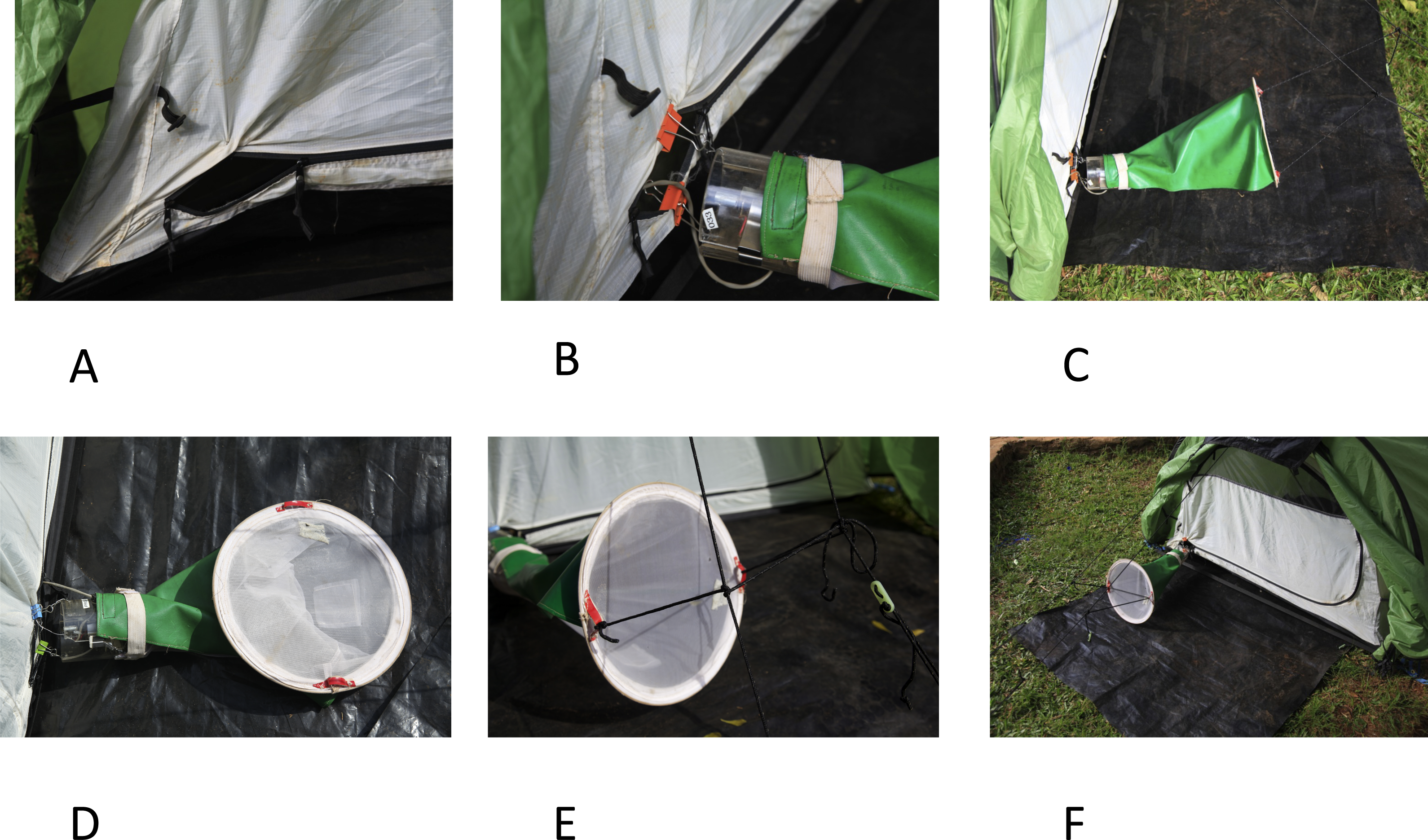 Download full-size image & The Furvela tent-trap Mk 1.1 for the collection of outdoor biting ...
