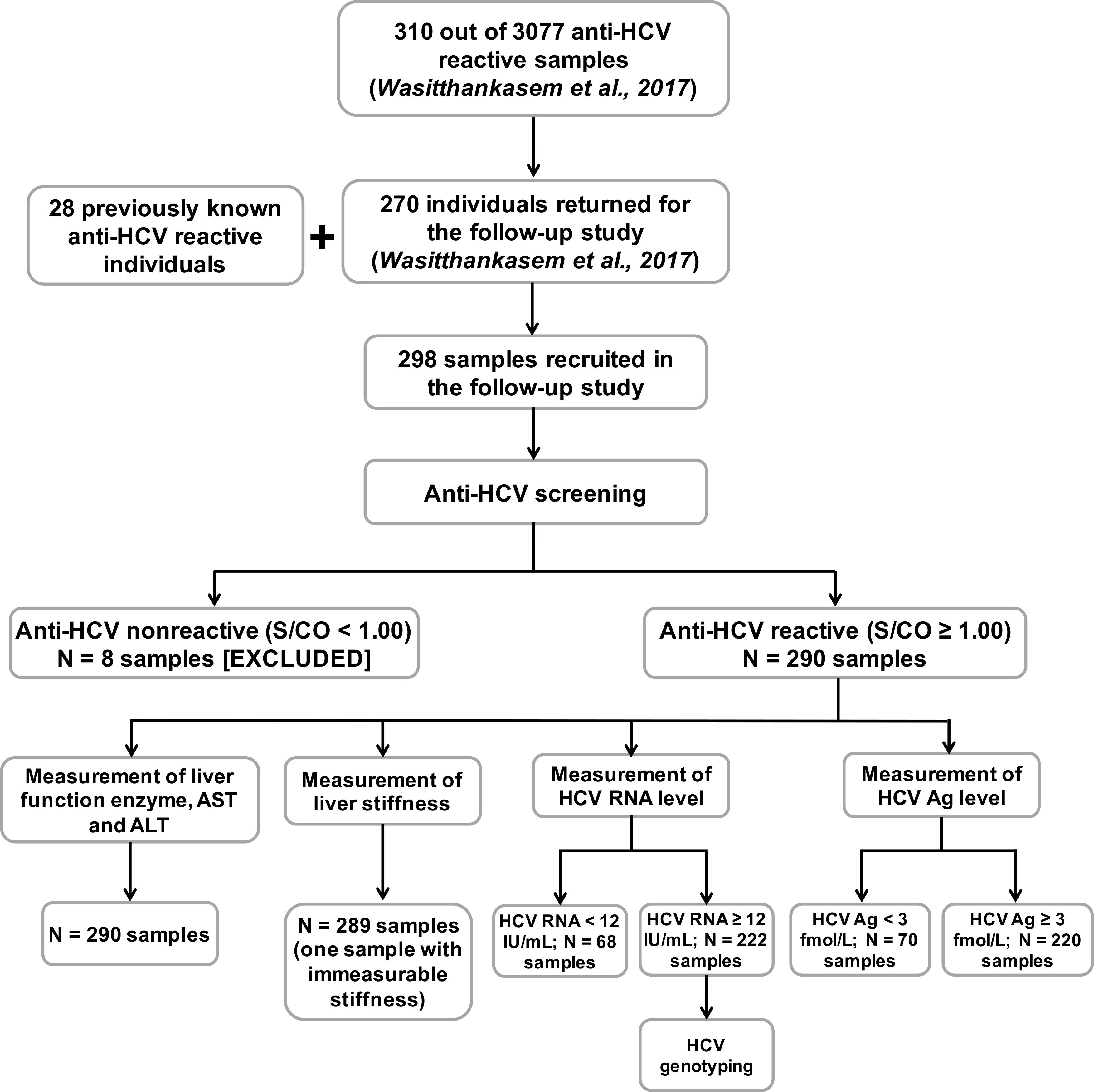 HCV core antigen is an alternative marker to HCV RNA for evaluating