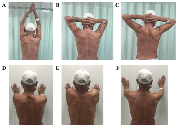 Scapula control exercise.
