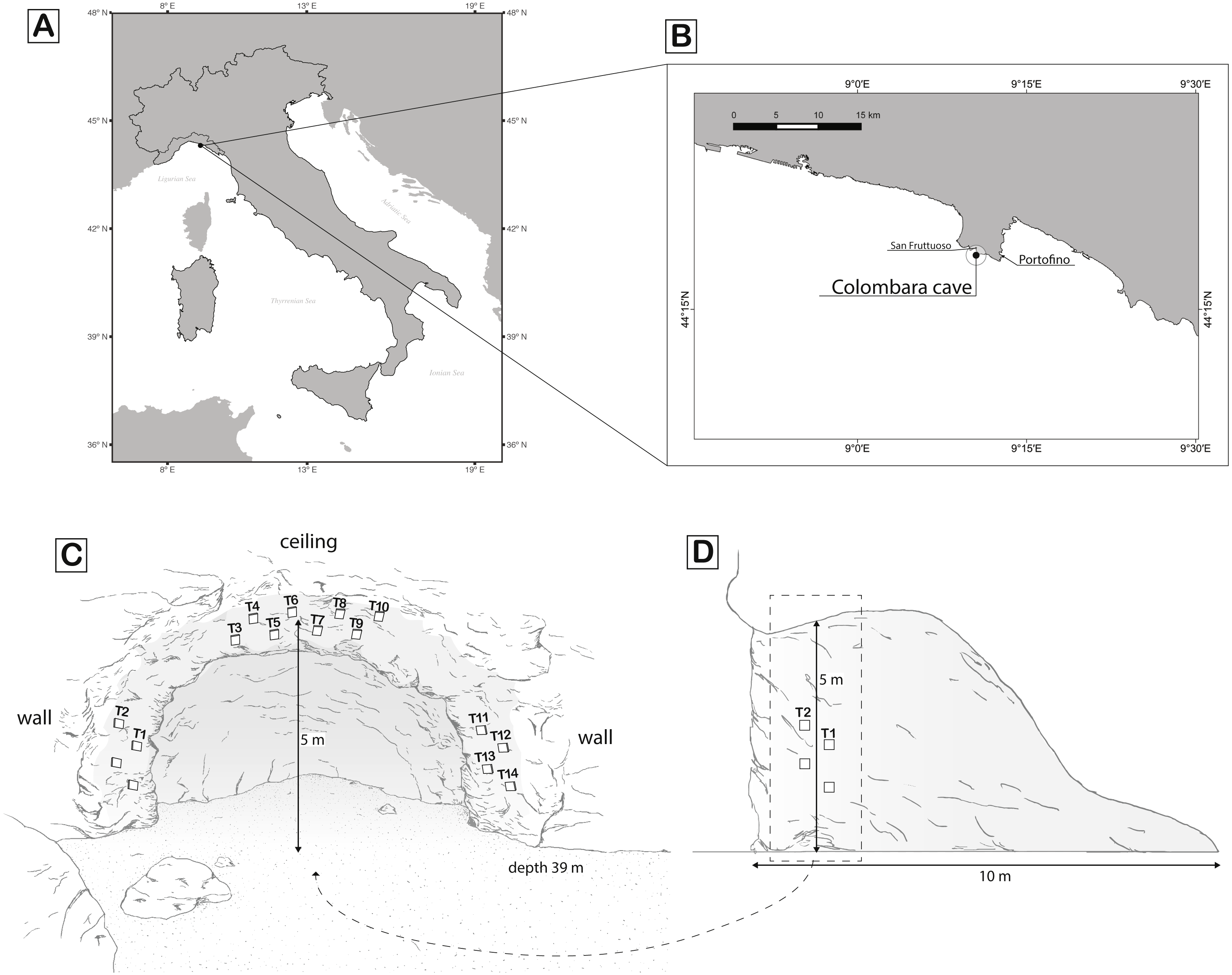Living upside down: patterns of red coral settlement in a cave [PeerJ]