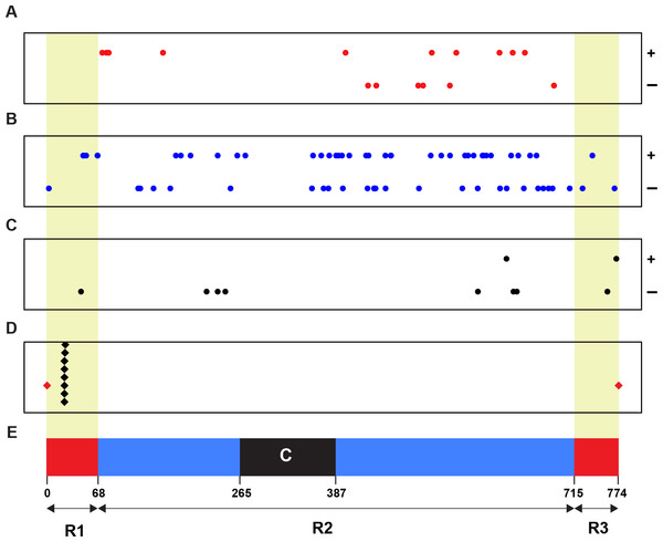 Physical relationship of 93 candidates of Wsm2 ancestor loci with Wsm2 locus on wheat chromosome 3B.