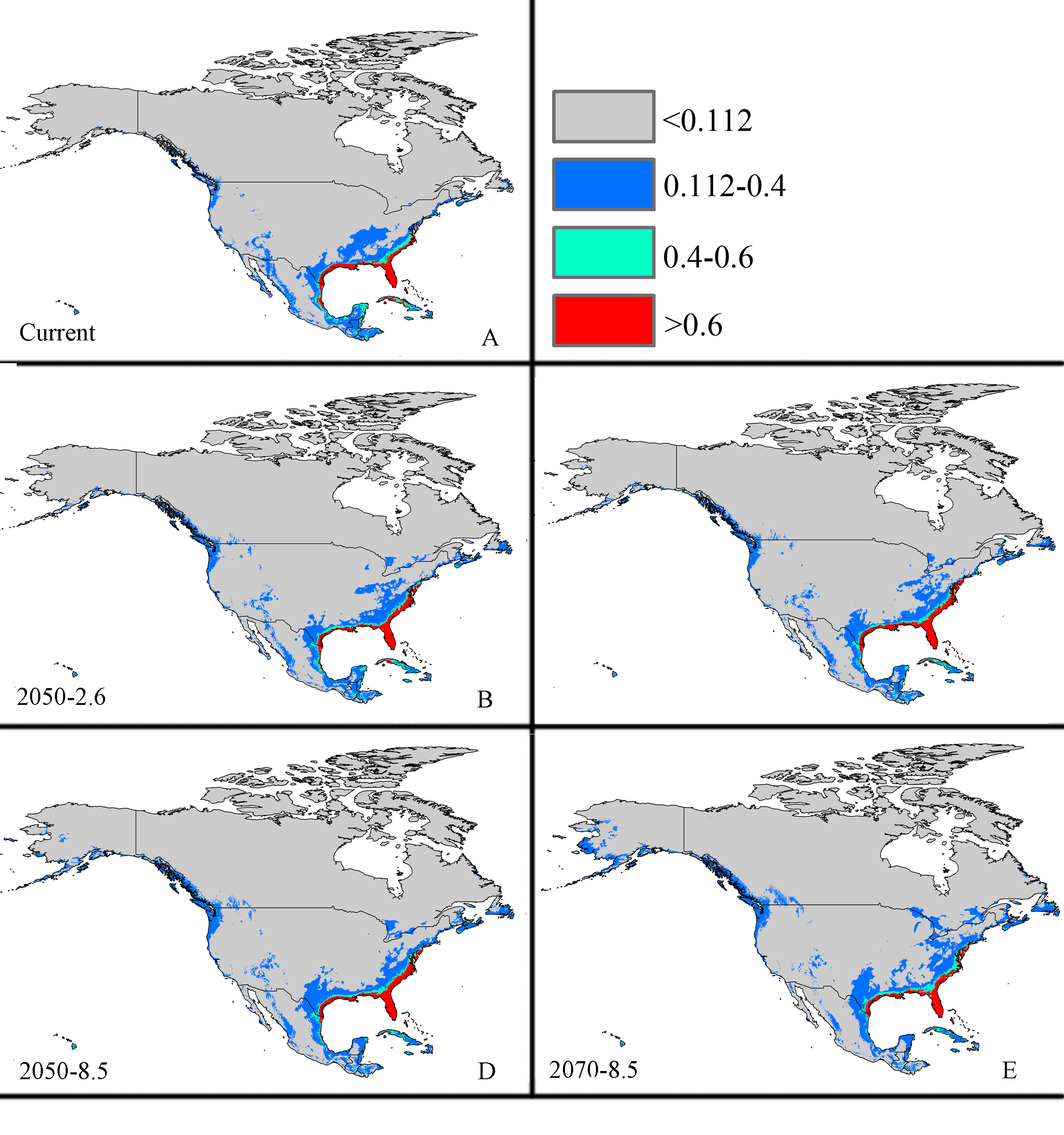Predicting the potential distributions of the invasive cycad scale ...