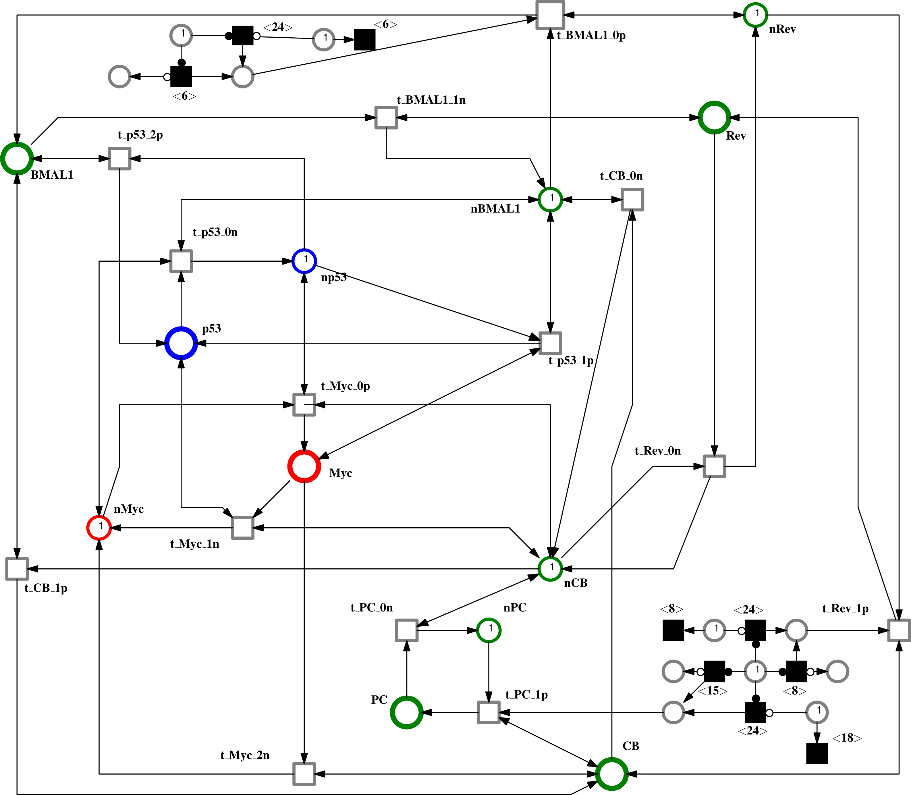 Modeling And Analysis Of The Impacts Jet Lag On Circadian Rhythm Are Column Wise Internally Connected Model Circuit Diagram Download Full Size Image