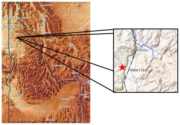 Location of UWBM C2830.