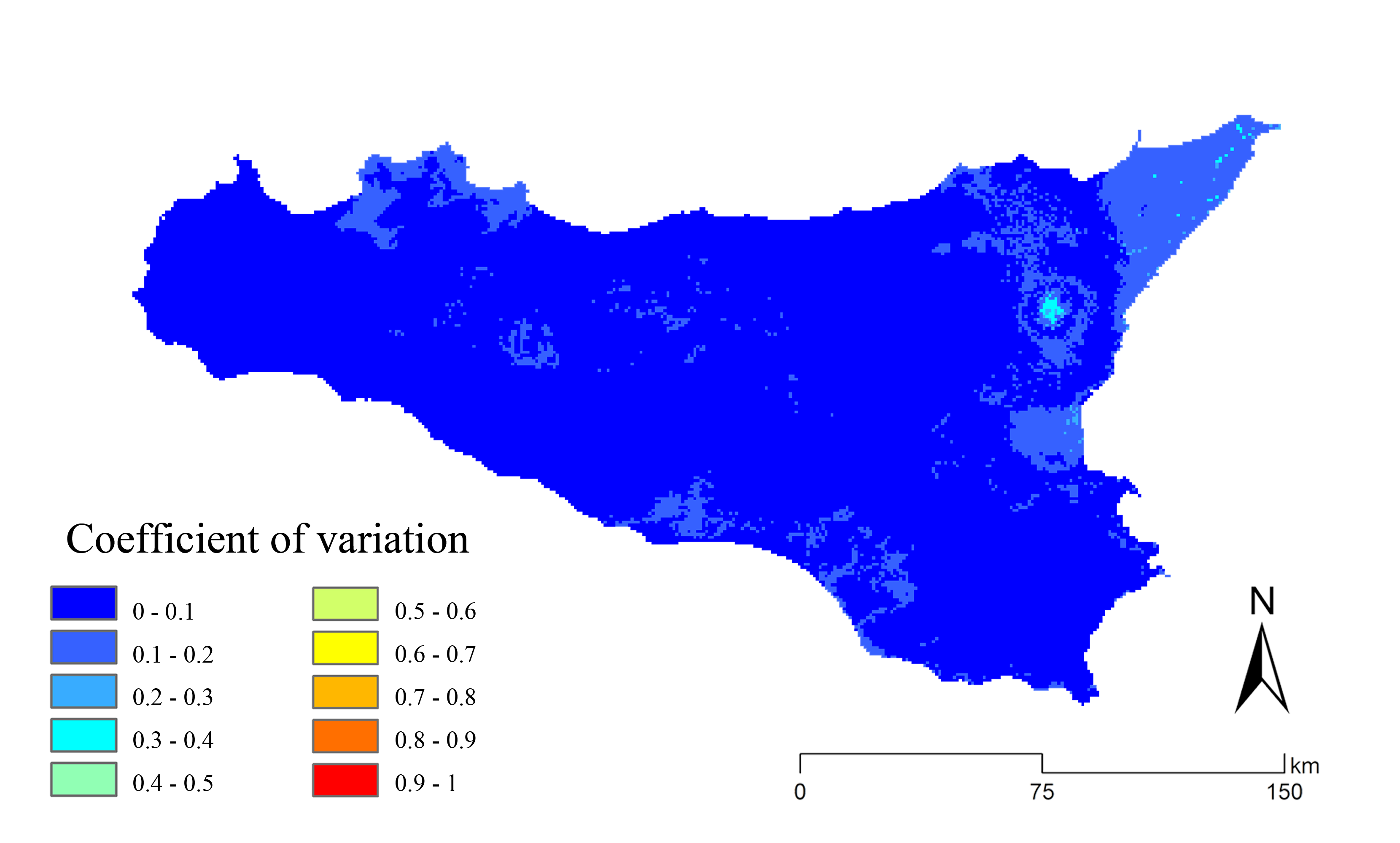 Coupling GIS spatial analysis and Ensemble Niche Modelling