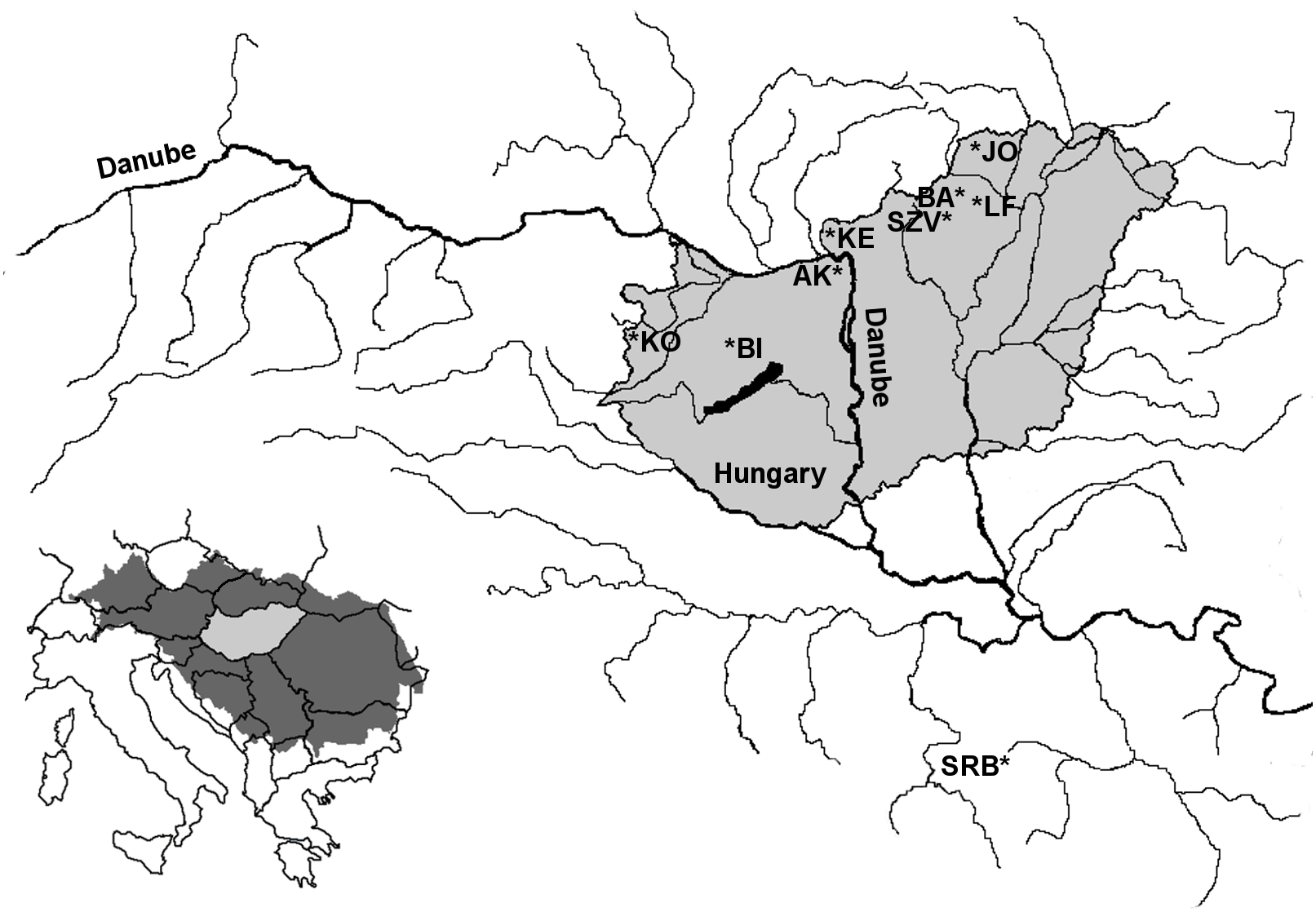 the genetic status of the hungarian brown trout populations 74 Monte Carlo SS download full size image
