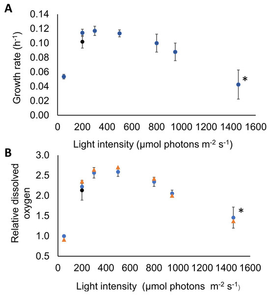 Challanging Synechocystis by high light intensity revealed its adaptive capacity.