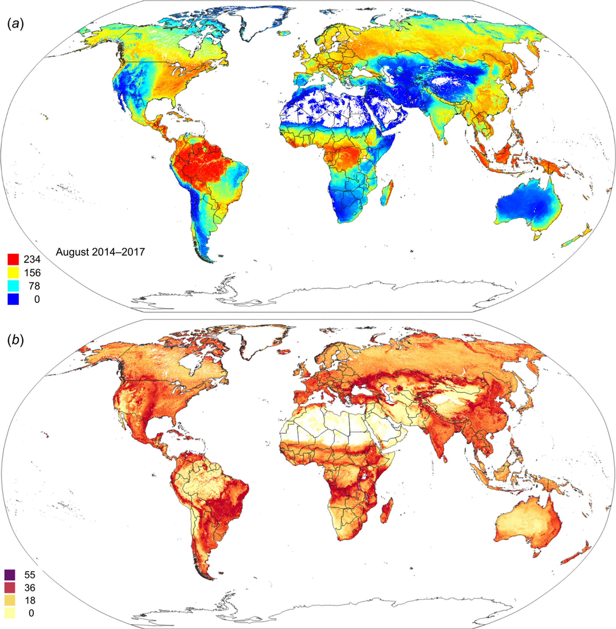Global mapping of potential natural vegetation: an assessment of