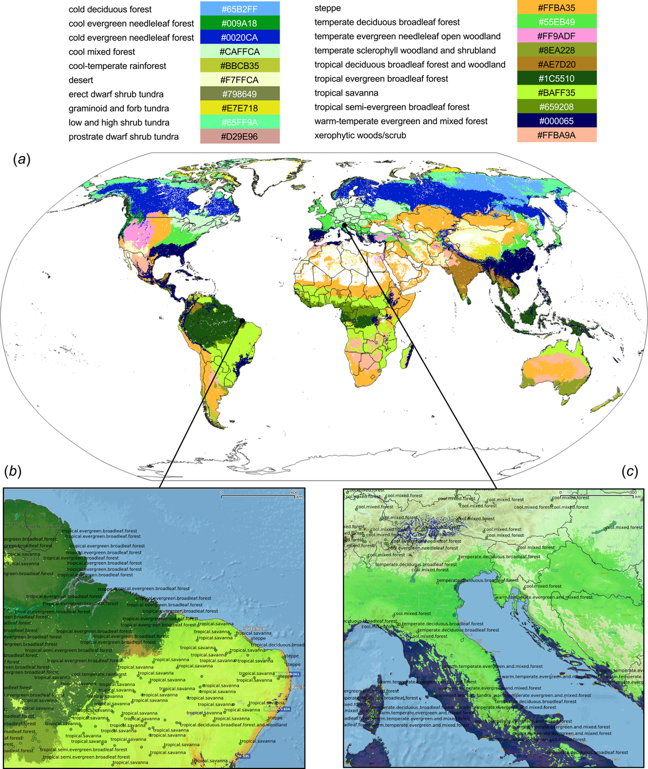 Image of: Global Mapping Of Potential Natural Vegetation An Assessment Of Machine Learning Algorithms For Estimating Land Potential Peerj