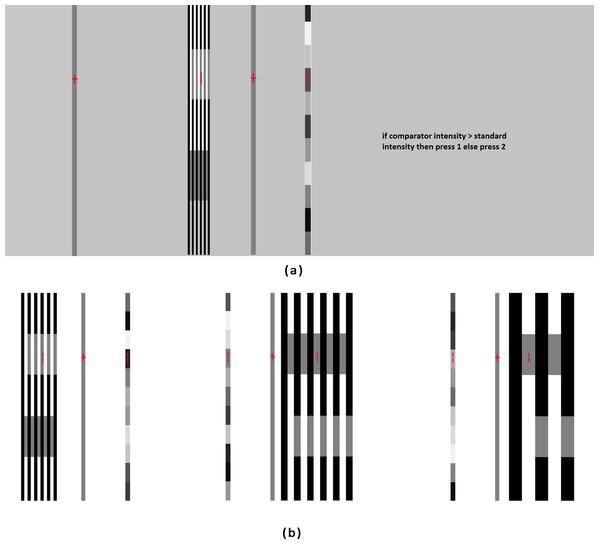 Screen design of the psychophysical experiment.