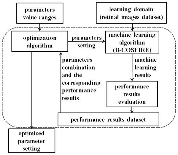 Schematic representation of our proposed parameter optimization.