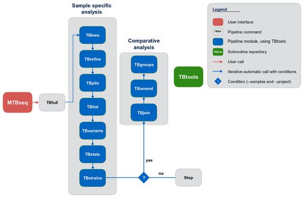 Schematic representation of the MTBseq workflow.