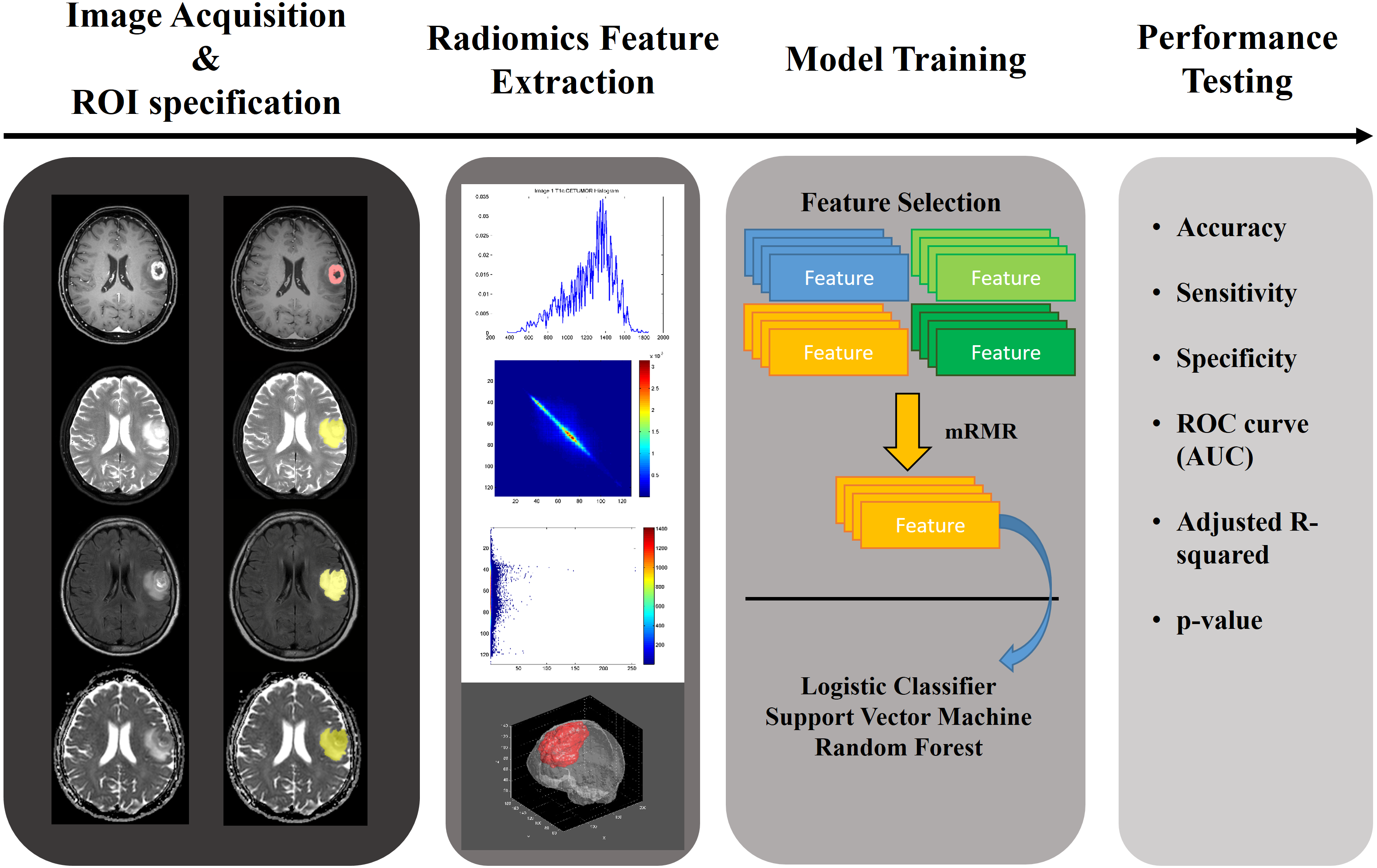 Classification of the glioma grading using radiomics analysis [PeerJ]