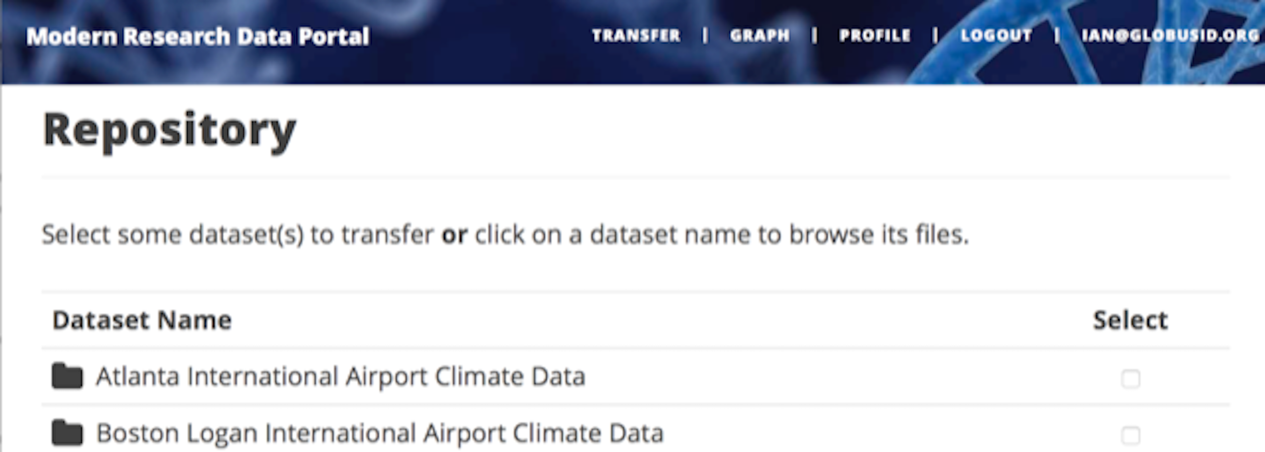 The Modern Research Data Portal: a design pattern for