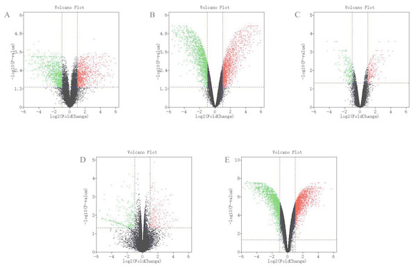 Differential expression analysis of datasets of samples.
