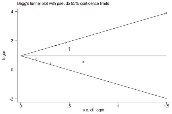 Publication bias results.