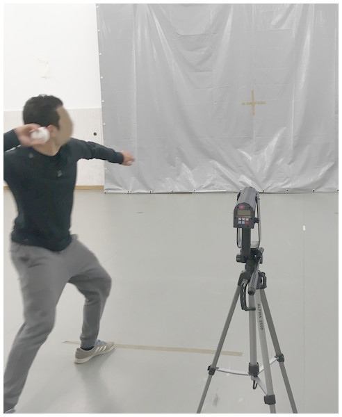 Motor competence—throwing velocity test.