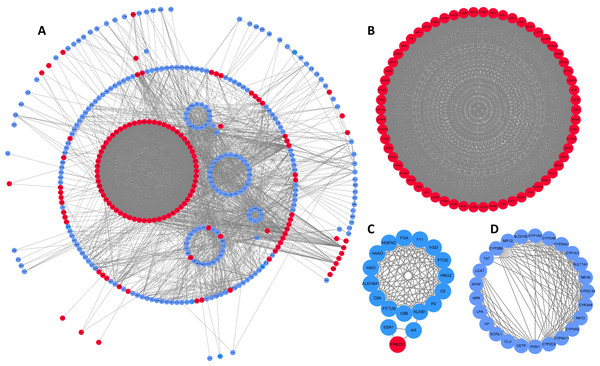 DEG PPI network and modular analysis.