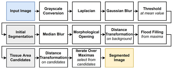 Flowchart of the FESI algorithm.