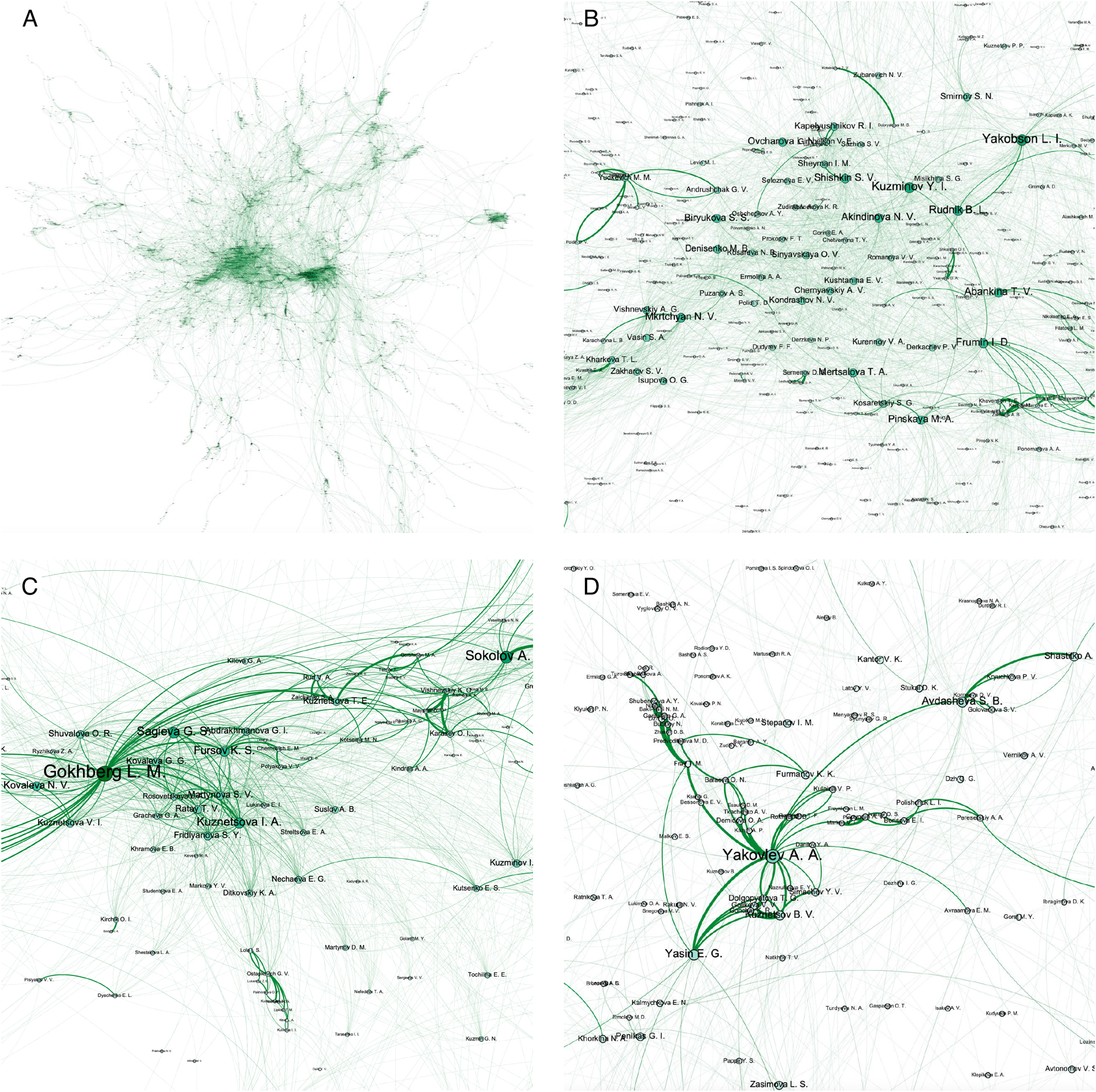 Dual network embedding for representing research interests in the