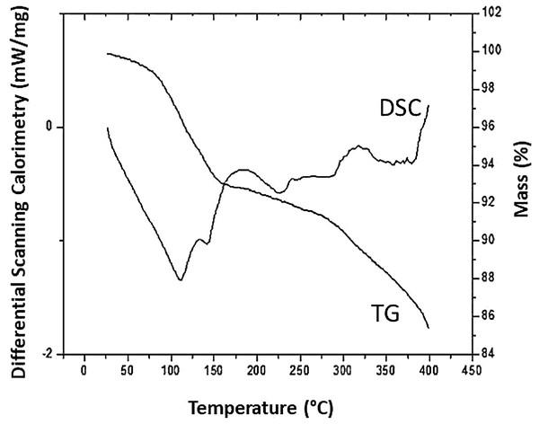DSC and TG of the C. bombicola URM 3718 biosurfactant.