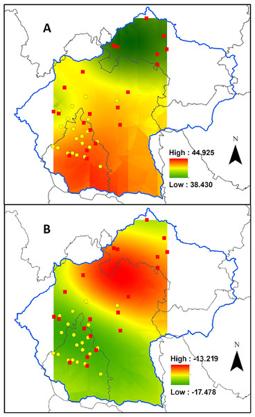 Biomonitor carbon status in the Valley of Mexico.