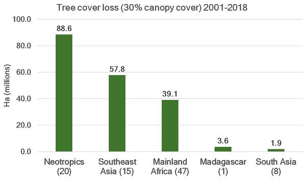 Tree cover loss.