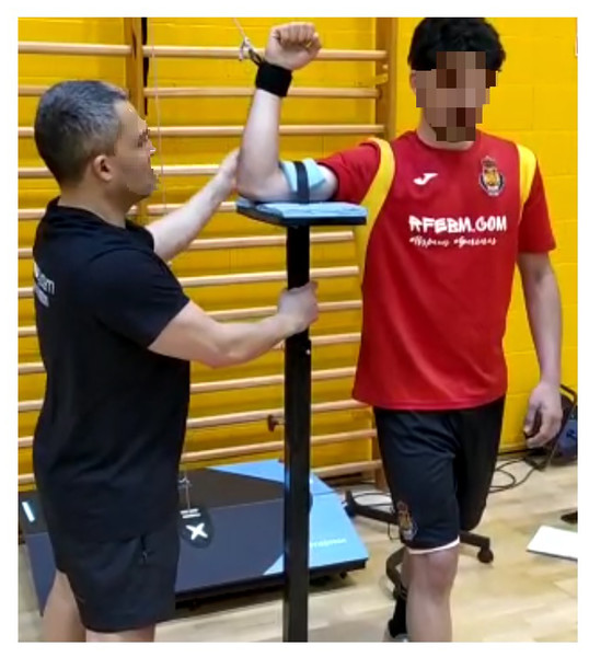 Reliability of a standing isokinetic shoulder rotators strength test using a functional electromechanical dynamometer: effects of velocity [PeerJ]