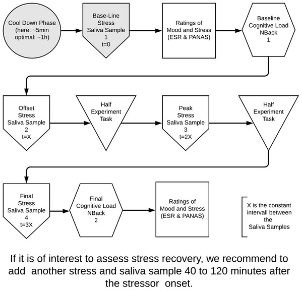 Our proposal for a robust and sound experimental design to assess causes and consequences of stress in software engineering.