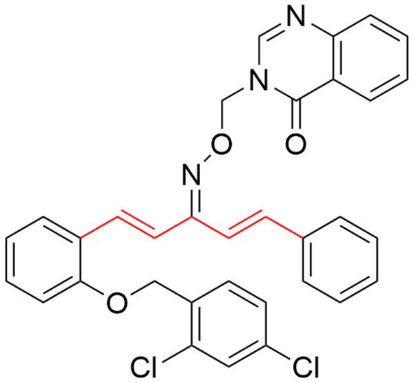 The anti-TMV mechanism of 1,4-pentadien-3-one derivatives.