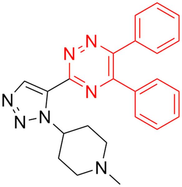 1,2,4-triazine fragment against three fungals (Candida albicans, Aspergillus niger and Cryp- tococcus neoformans).
