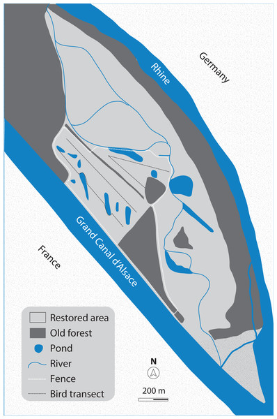 Map of the study site.