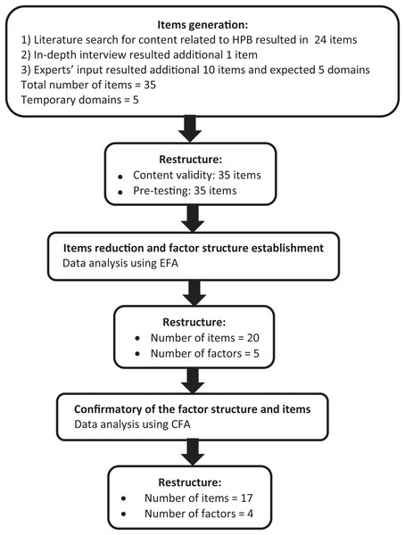 Summary of questionnaire development process.