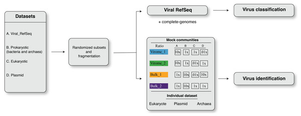 The framework of dataset simulation strategies.