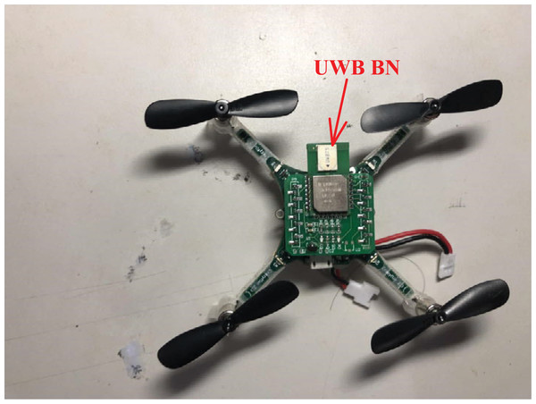 The quadrotor used in this work.