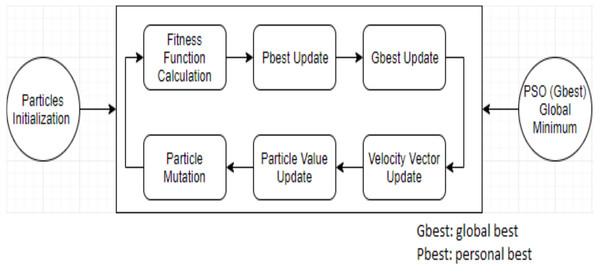 The original PSO algorithm.